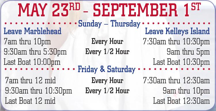 Cedar Island Ferry Schedule May