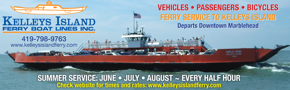 Lake Erie Auto Credit >> Schedule for Kelleys Island Ferry Boat Line for passenger and auto transportation from ...